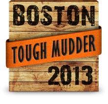 Tough Mudder badge